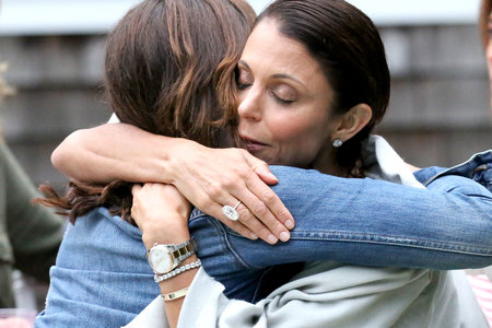 Bethenny Frankel Hugs Luann de Lesseps in Season 11 of The Real Housewives of New York City