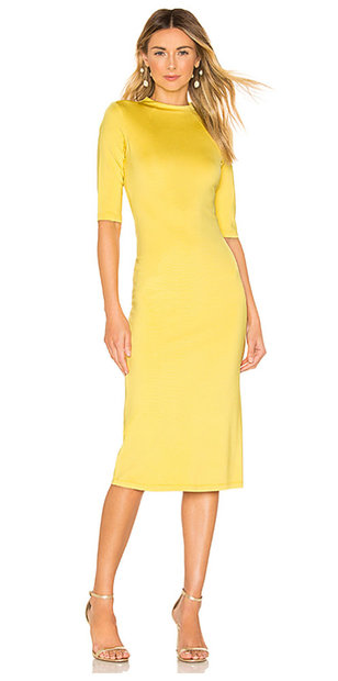 kandi-burrus-alice-olivia-yellow-dress