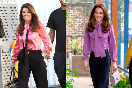 Lisa Vanderpump Kate Middleton Style