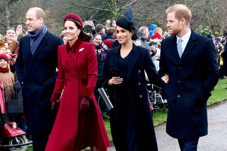 Prince William, Kate Middleton, Meghan Markle, Prince Harry