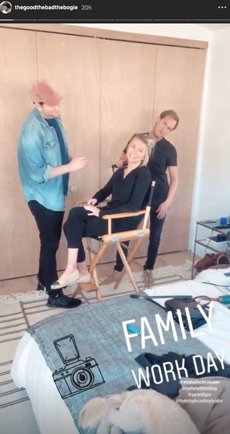 Beau Clark Family Work Day with Girlfriend Stassi Schroeder