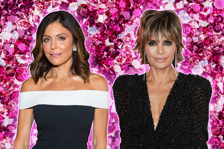 Bethenny Frankel and Lisa Rinna