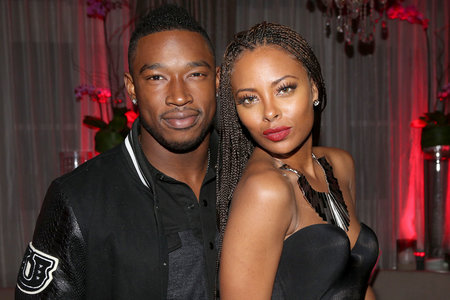 Eva Marcille with Ex Kevin McCall