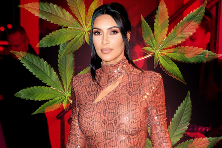 Kim Kardashian S Cbd Themed Baby Shower For Fourth Child Home Design