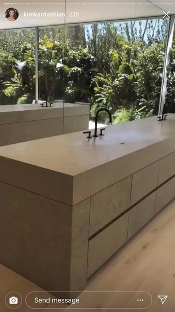 kim-kardashian-sink-03 Shower For Mobile Home on