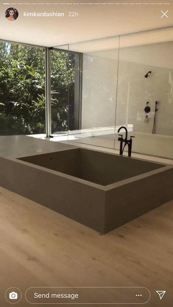 Kim Kardashian How Her Bathroom Sink Works Style Amp Living