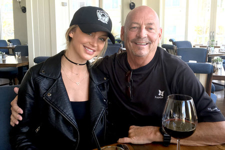 Lala Kent and Dad Photo
