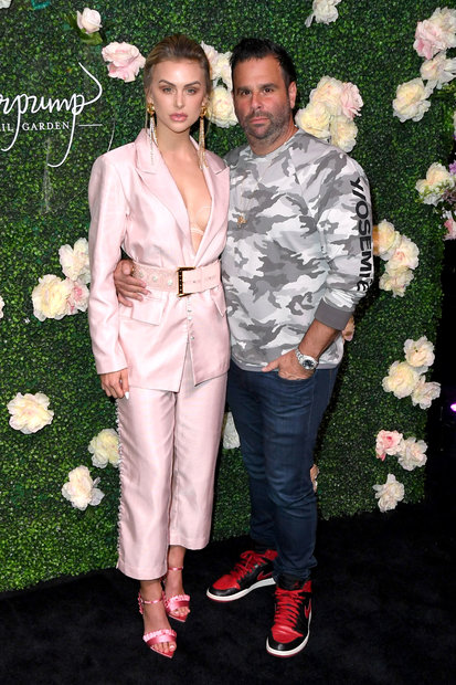 Lala Kent and Randall Emmett at Vanderpump Cocktail Garden