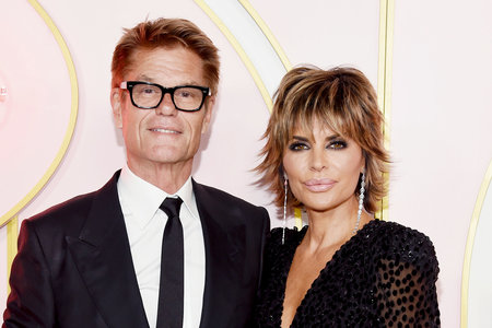 Lisa Rinna, Harry Hamlin