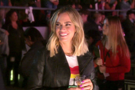 teddi mellencamp at boy george RHOBH concert