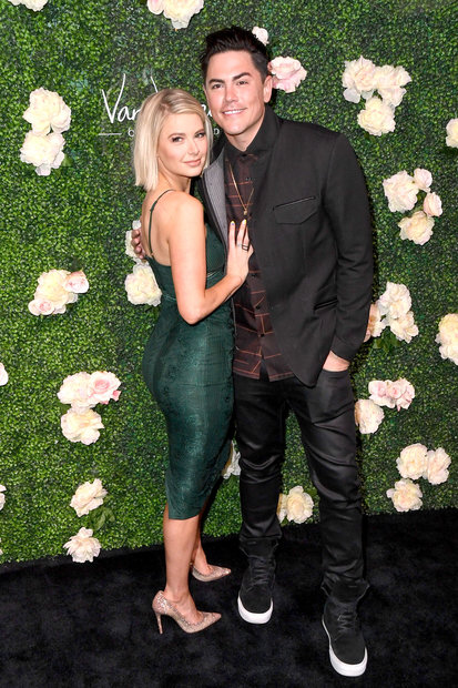 Tom Sandoval and Ariana Madix at Vanderpump Cocktail Garden