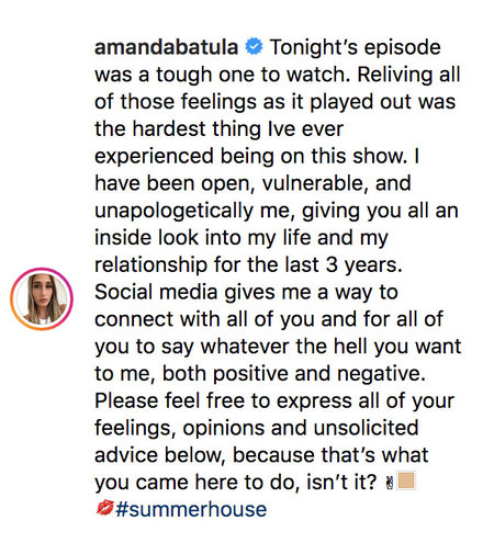 Amanda Batula Reacts to Kyle Cooke's Cheating Rumors on Instagram