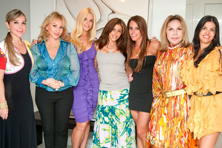 The Real Housewives of Miami Cast with Mama Elsa