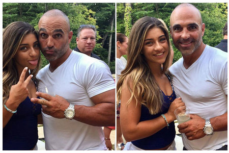 Gia Giudice with Uncle Joe Gorga