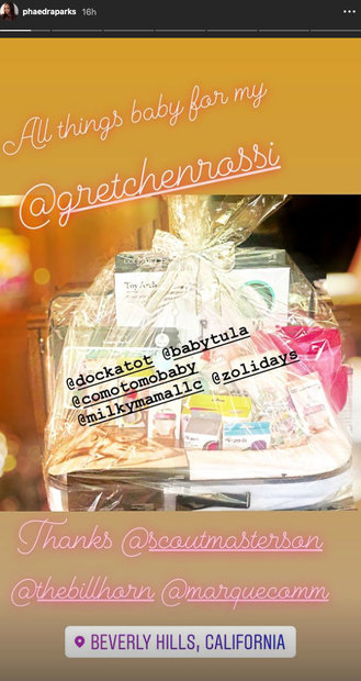 Phaedra Parks' Gift to Gretchen Rossi at Her Baby Shower