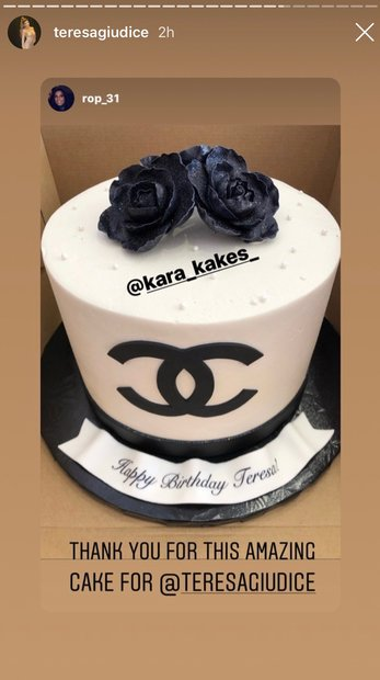 Enjoyable Teresa Giudice Birthday Party Pictures Chanel Cake Style Living Funny Birthday Cards Online Eattedamsfinfo
