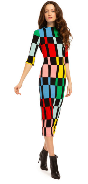 Alice + Olivia Rainbow Dress