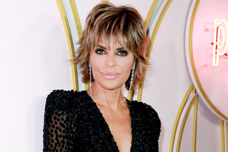 Lisa Rinna Debuts a New Bright Blonde Hairstyle and We're Obsessed