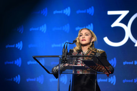 Madonna at 30th Annual GLAAD Media Awards
