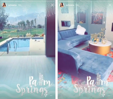 Scheana Shay S New Palm Springs Vacation Home See Photos
