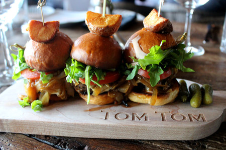 Brioche Kobe Sliders