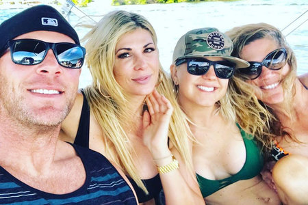 Alexis Bellino with Boyfriend Andy Bohn on Father's Day 2019