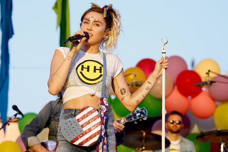 Miley Cyrus at Pride