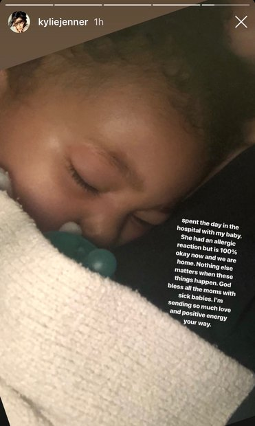 Kylie Jenner Instagram Pictures: Stormi Webster