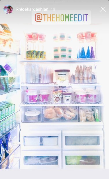 Khloe Kardashian's Fridge Pics: The Home Edit
