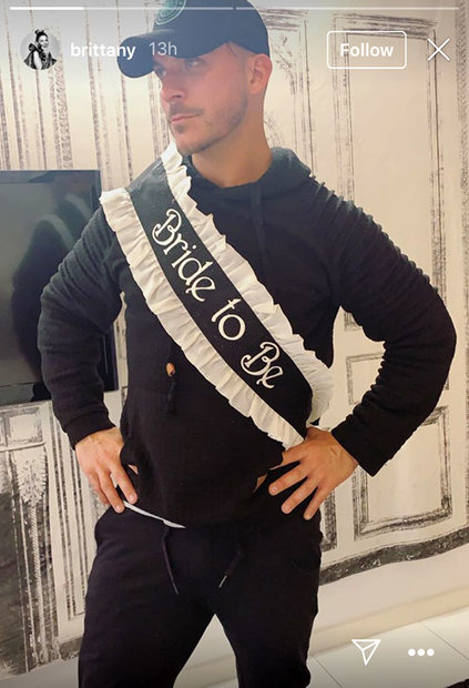 Jax Taylor bachelor party
