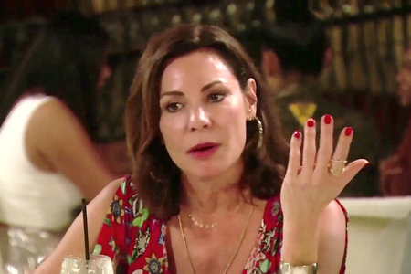 Luann de Lesseps' dinner fight with Bethenny