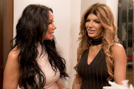 Teresa Giudice and Danielle Staub in The Real Housewives of New Jersey