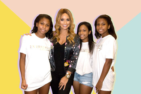 Gizelle Bryant with Daughters Grace, Angel, and Adore