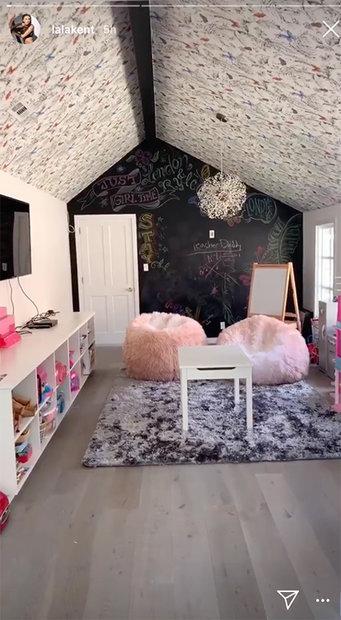 Playroom Chalkboard Wall