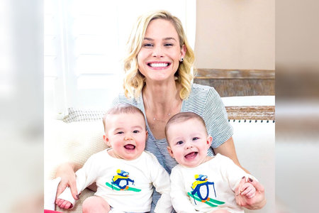 Meghan King Edmonds with Twin Sons Hart and Hayes