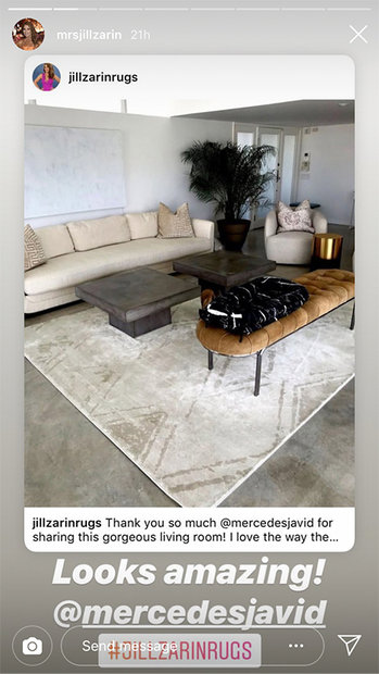 MJ Javid and Jill Zarin Rugs