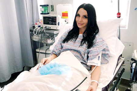Scheana Shay After Her First Egg Retrieval