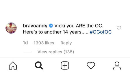 Andy Cohen Reacts Vicki RHOC Season 14