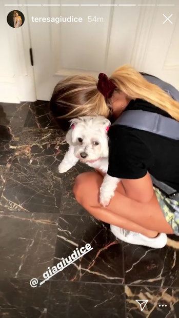 Gia Giudice Says Goodbye to Dog Bella as She Leaves for College