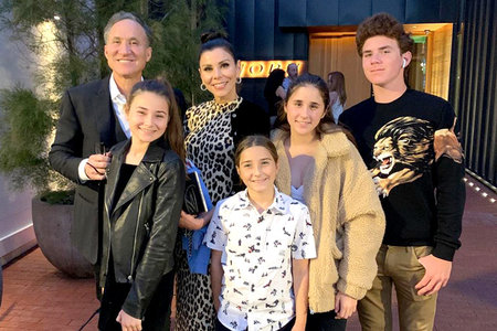 Heather Dubrow, Terry Dubrow, Kids