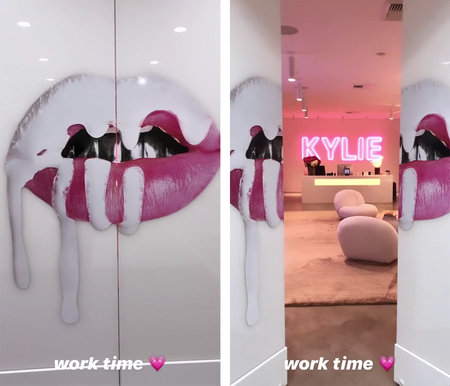 Kylie Jenner Gets New Work Office See Design Decor