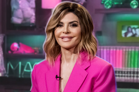 Lisa Rinna's New Hairstyle: Bangs with Wavy Ponytail Called