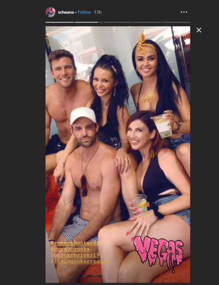 scheana shay, robby hayes in vegas