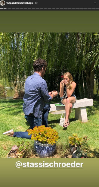 Beau Clark Proposes to Stassi Schroeder