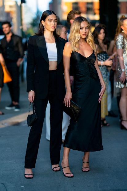 Delilah Belle, Amelia Gray Hamlin Coordinate for NY Fashion