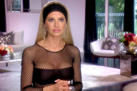 Dorit Kemsley Rhobh Fishnet Style 02 0