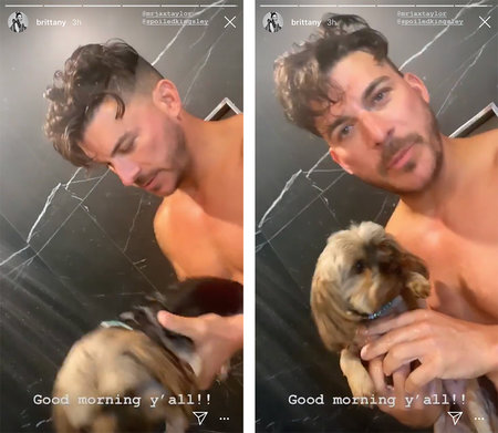 Jax Taylor Brittany Cartwright Shower 1