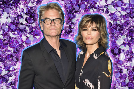 Lisa Rinna Harry Hamlin Electric Pole