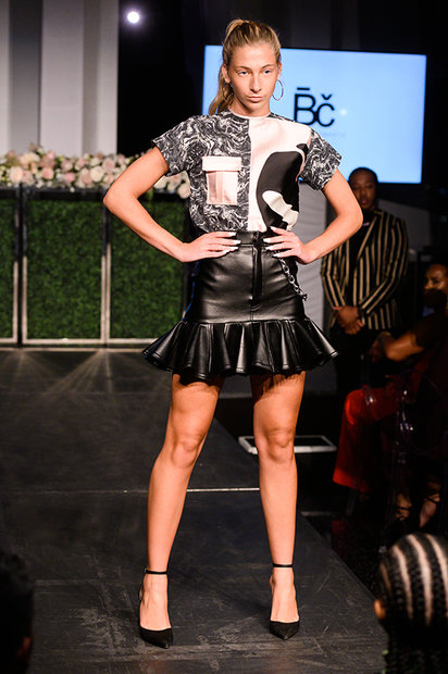 Project Runway's Bishme Cromartie Harlem's Fashion Row Show
