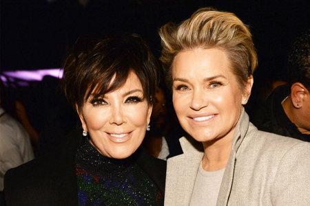 Yolanda Hadid Kris Jenner Dynasty Photo Shoot